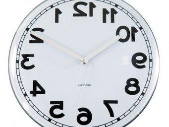 Karlsson Clocks - karlsson - horloge dome backwards - karlsson - - Kitchen Clock