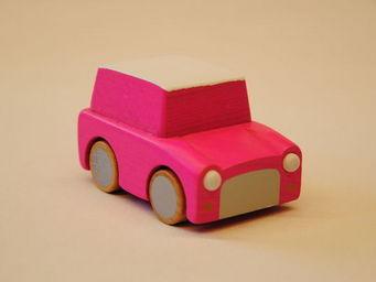 KUKKIA - k001-pnk-kuruma - Wooden Toy