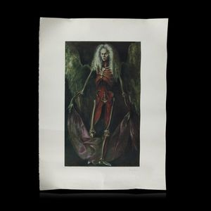 Expertissim - léonor fini. - silhouette anatomique - Poster