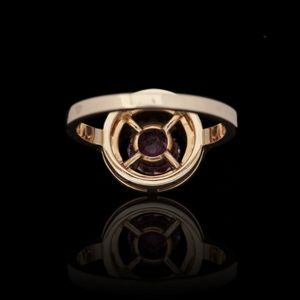 Expertissim - boucheron. bague ava or et tourmaline - Ring