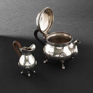 Expertissim - johann s. kurz & co. petite verseuse et crémier en - Creamer Bowl
