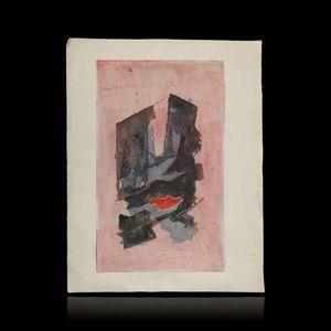 Expertissim - francis bott. composition abstraite - Poster