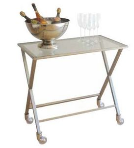 CLASSHOTEL - inoxy 403 - Table On Wheels