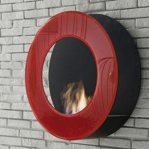 ITALY DREAM DESIGN - circle - Flueless Burner Fireplace