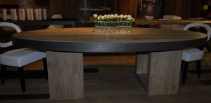 Cabuy Didier -  - Oval Dining Table