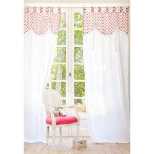 MAISONS DU MONDE - rideau shabby - Tab Top Curtain