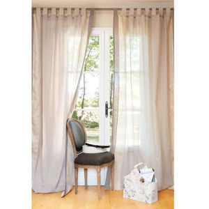 MAISONS DU MONDE - rideau demoiselle - Tab Top Curtain
