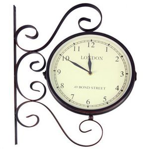 Maisons du monde - horloge applique bond street - Kitchen Clock