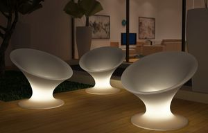 LA NOMADE DU DESIGN -  - Luminous Garden Armchair