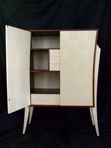 DAAN KOERS - armoirette palissandre des indes - Cupboard