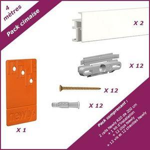 NEWLY - pack cimaise r20 - 4 mètres - Picture Rail