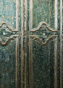 BLEU PROVENCE - porte ancienne - Antique Door