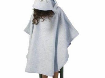 SIRETEX - SENSEI - poncho enfant en forme de souris ciel - Children's Bathrobe