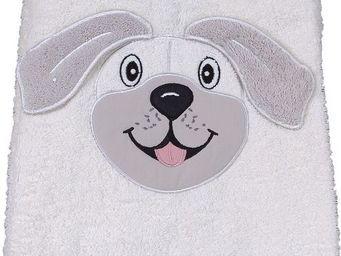 SIRETEX - SENSEI - drap de douche 70x140cm en forme chien - Children's Bath Towel