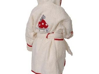 SIRETEX - SENSEI - peignoir enfant brodé mouse room - Children's Dressing Gown
