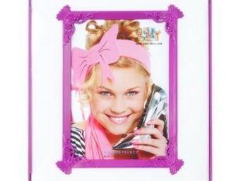 Present Time - cadre photo passepartout - couleur - violet - Photo Frame