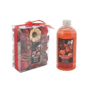 WHITE LABEL - pot pourri recharge liquide de parfum fruits - Potpourri