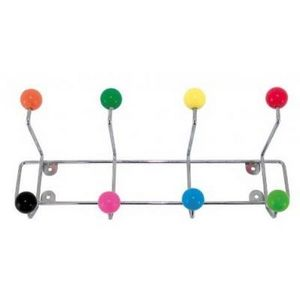 Present Time - portemanteau à fixer boules colorées - Coat Rack