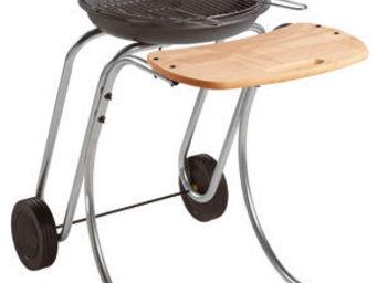 INVICTA - barbecue douvres en fonte, bois et acier 66x92x97c - Charcoal Barbecue