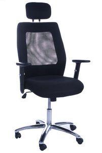 KOKOON DESIGN - fauteuil de bureau ergonomique en mesh noir 54x50x - Office Armchair