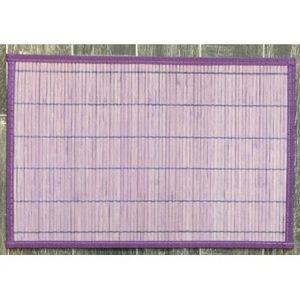 ILIAS - lot de 4 sets de table bambou lavande - Placemat