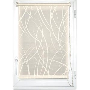 Luance - store enrouleur tamisant imprimé 60x180cm écru - Light Blocking Blind