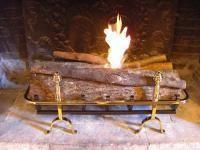Cheminée de Changy - bruleur - Flueless Burner Fireplace