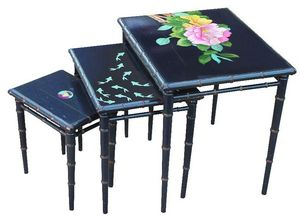 Moissonnier - bambou - Nest Of Tables