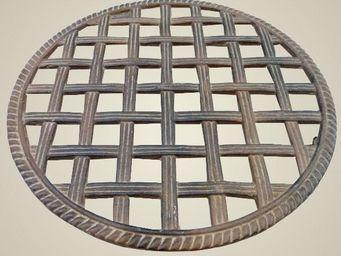 L'HERITIER DU TEMPS - dessous de plat en fonte ø 30cm - Plate Coaster