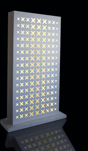 Standing acoustic panel