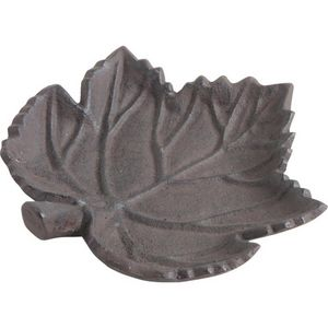 AUBRY GASPARD - mangeoire oiseau feuille en fonte - Bird Feeder