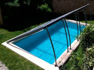Sun Abris - relevable - Low Removable Pool Enclosure