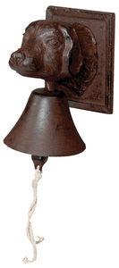 BEST FOR BOOTS - cloche de jardin tête de chien - Outdoor Bell