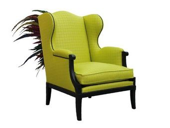 Gilles Nouailhac - punk in green - Armchair With Headrest