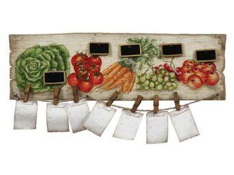 Interior's - pele mêle fruits et légumes - Pell Mell