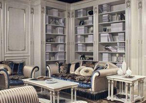 A.L.A Mobili d'Arte -  - Open Bookcase