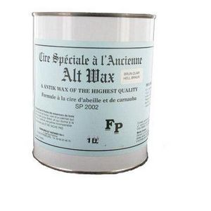 FERRURES ET PATINES - cire speciale a l'ancienne brun clair - Skate Wax