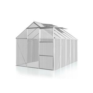 WHITE LABEL - serre polycarbonate 250 x 270 cm 6,7 m2 - Greenhouse