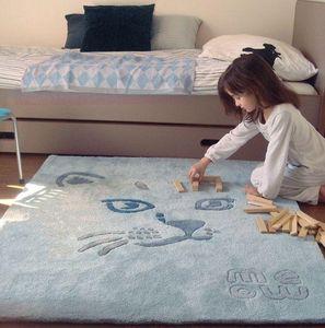 ART FOR KIDS - chat meow - Children's' Rug