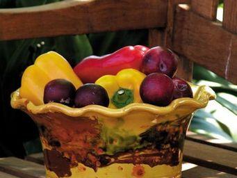 Les Poteries D'albi - vasque dentèle - Fruit Dish