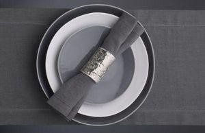 Kelly Hoppen - grey linen runner - Dining Table Runner