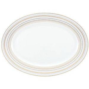 Raynaud - attraction or et platine - Oval Dish