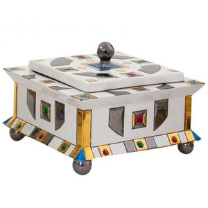 Emaux De Longwy -  - Decorated Box