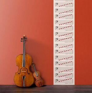 Ich&Kar - clé de fa - Single Strip Of Wallpaper