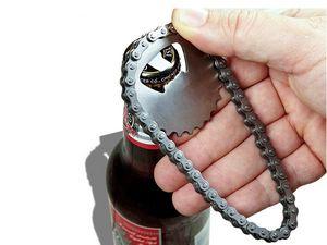 WHITE LABEL - mini chaine de vélo décapsuleur deco maison ustens - Bottle Opener