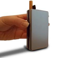 WHITE LABEL - etui design à cigarettes automatique dorée boite a - Cigarettes Case