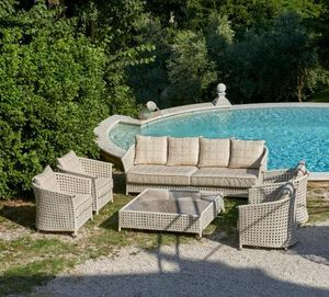 SAMUELE MAZZA OUTDOOR COLLECTION -  - Garden Furniture Set