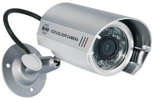 ELRO - videosurveillance - caméra factice en métal cs22d  - Security Camera