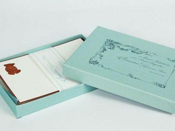 Benneton - ourson -enfant - Correspondence Box