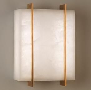 Vaughan - stockport alabaster  - Wall Lamp